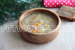 гречневый суп с индейкой