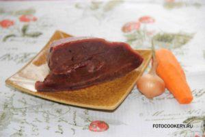 Диетический паштет из говяжьей печени