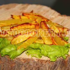 Картофель фри, запеченный в духовке