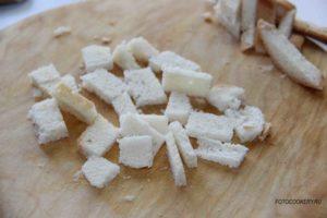 Кабачково-картофельный крем-суп с гренками
