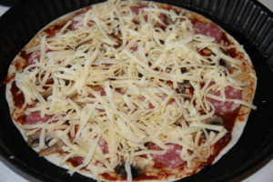 Пицца на тортильи