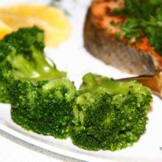 брокколи отварная