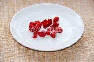 болгарский перец кубики