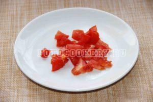помидор мелко