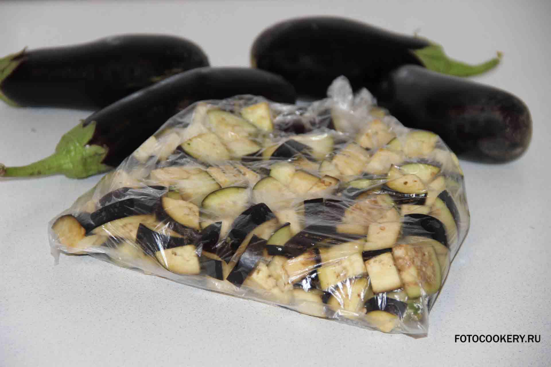 Как заморозить баклажаны на зиму пошагово