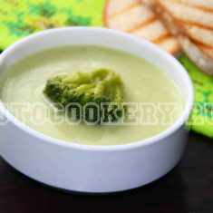 кабачковый суп с брокколи