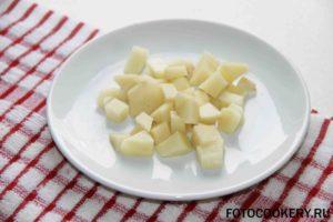 картофель на суп