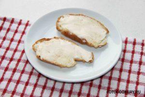 тосты с маслом/ хлеб с маслом