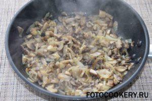 грибы жарим