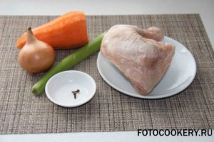 Итальянский куриный суп