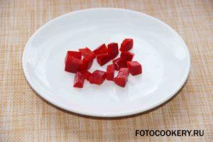 перец кубики