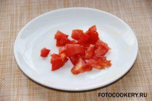 помидор кубики