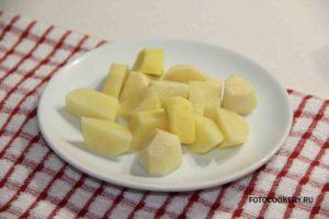 картофель средне