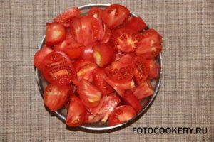 помидоры крупно