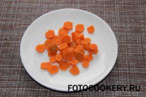 морковь кольца