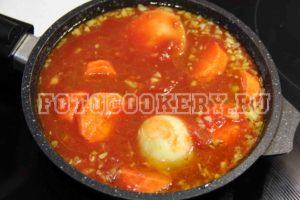 Паста в томатном соусе