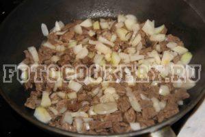 говядина жарим телятина