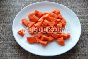 морковь крупно