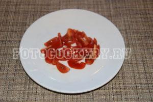 помидоры черри дольки