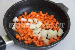 морковь лук жарим