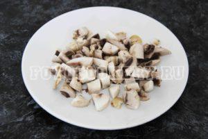 грибы шампиньоны средне