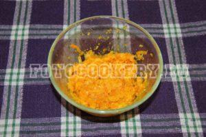 морковь и лук жареные