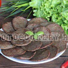 Печеночные оладьи (Оладьи из куриной печени)