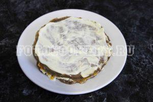Печеночный торт (торт из куриной печени)