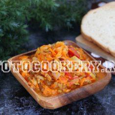 Овощная подлива с кабачками